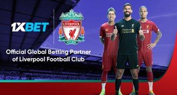 1xBet Liverpool Partnership